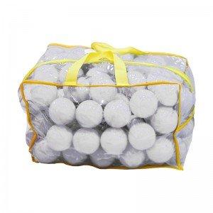 توپ سفید کیفی کودک بسته 100 تایی کد0051