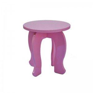 میز آرایش چوبی صورتی