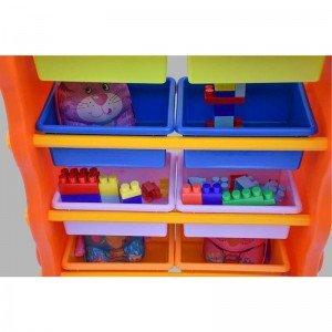 فروش قفسه اسباب بازی خانگی