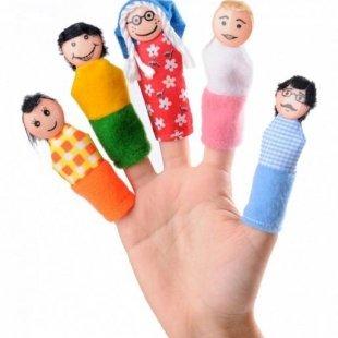 عروسک انگشتی خانوادهpic-9042