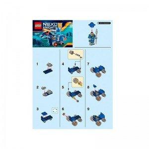لگو نکسونایت k3 cannon lego 30373