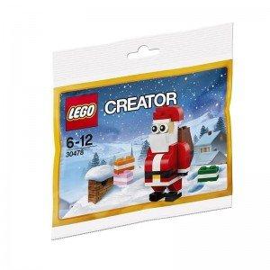 لگو بابا نوئل polybag creator lego 30478