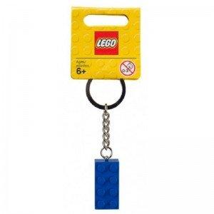 جا کلیدی لگو KeyChain 2x4 stud blue lego 851406