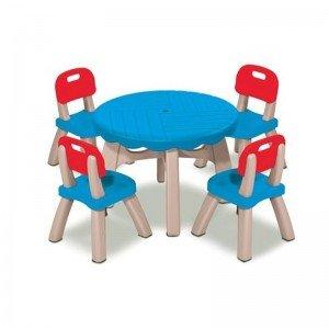 میز 4 نفره با 4 صندلی grow'n up 3017