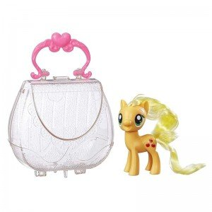 اسب پونی زرد با کیف
