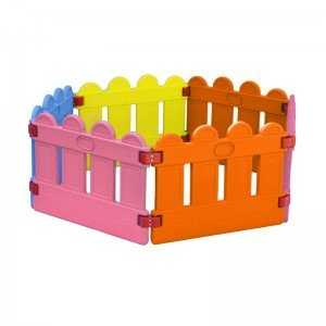 استخر توپ و پارک حفاظ کودک 6 ضلعی نرده ای مدل 50332
