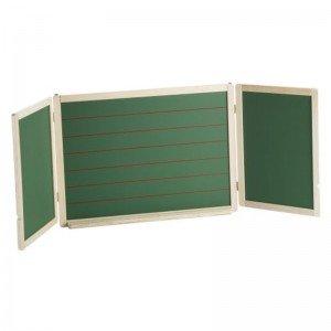 تخته سیاه و وایت برد سه تکه چوبی