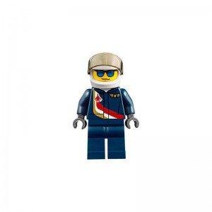 مینی فیگور لگو جت قرمز مدل Lego airshow jet 60177