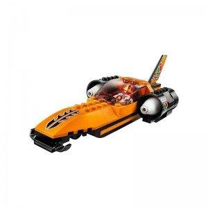 اسباب بازی بسته بندی لگو ماشین سرعتی مسابقه speed record car 60178