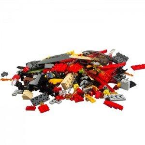 قطعات لگو نینجاگو کاتانا مدل LEGO NINJAGO Katana V11 70638