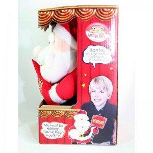 عروسک بابانوئل موزیکال مدل cbz2491