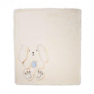 پتوی خرگوشی کرم آبی کودک  1202