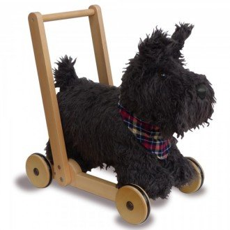 واکر سگ اسکاتی Scottie Dog Push Along little bird 3053