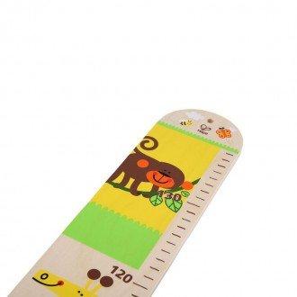تنوع طرح و رنگ چارت اندازه گیری قد کودک hape 0037