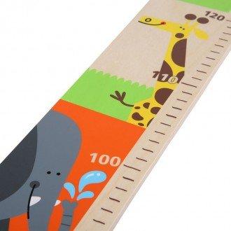 چارت چوبی  اندازه گیری قد کودک hape 0037