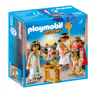 پلی موبيل مدل playmobil caesar and cleopatra 5394
