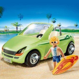 پلی موبيل مدل PLAYMOBIL Surfer With Convertible 6069