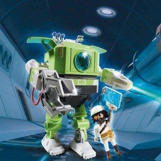پلی موبيل مدل PLAYMOBIL 6693 Cleano Robot