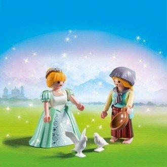 پلی موبيل مدل Playmobil 6843 - Duo Pack Princess and Maid