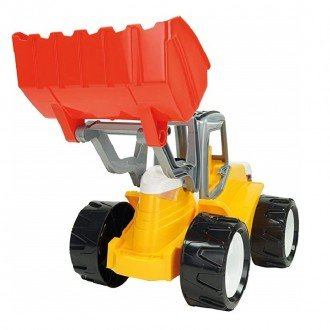 لودر بزرگ LENA 02063 - Strong giant shovel loader red and yellow