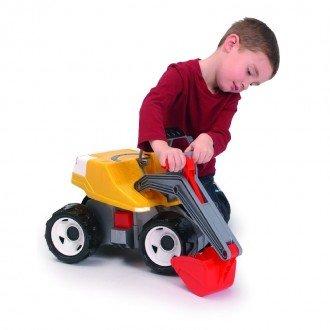 بیل مکانیکی بزرگ زرد قرمز Lena 02062 بهترین هدیه برای کودکان