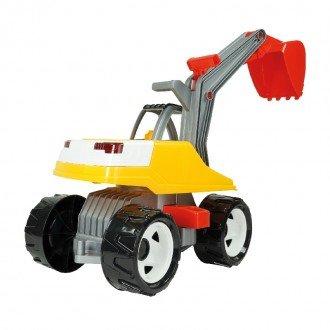 تنوع رنگ بیل مکانیکی بزرگ زرد قرمز Lena 02062 - Strong giant digger