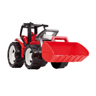 تراکتور بزرگ قرمز LENA 02055- Strong giant tractor with front loader