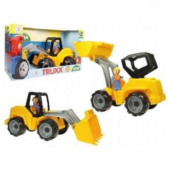 خرید بولدوزر زرد مشکی  Lena 04412 -Truxx shovel loader بهترین هدیه برای کودکان