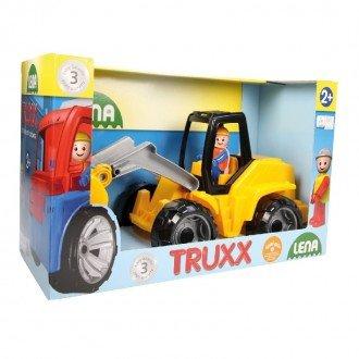 بسته بندی بولدوزر زرد مشکی  Lena 04412 -Truxx shovel loader