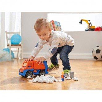 بازی و سرگرمی با ماشین حمل زباله  Lena 04416 - Truxx: garbage truck