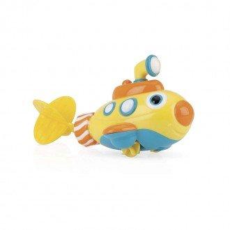 اسباب بازی حمام طرح زیردریایی زرد مدل  id6200