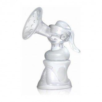 شیر دوش پمپی قابل تنظیم با طلق و انباره nuby 72035