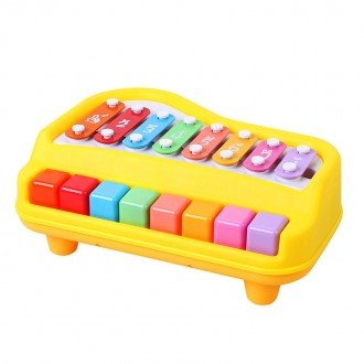 2 in 1 Piano  xylophone musical toy
