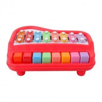 بلز و پیانو قرمز متوسط مدل 1502 بهترین هدیه برای کودکان