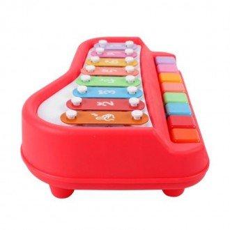 بلز و پیانو قرمز متوسط مدل 1502