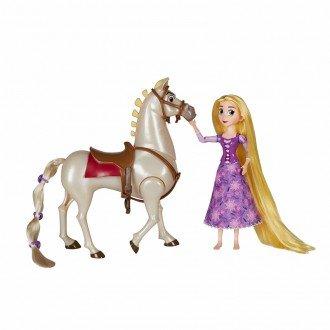 بازی و سرگرمی با عروسک راپونزل با اسب مدل 56121