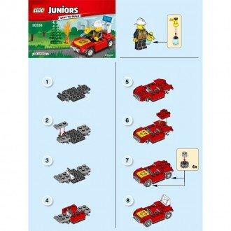 راهنمای ساخت لگو جونیور مدل آتش نشان Lego 30338