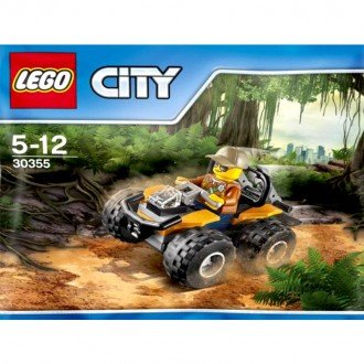 لگو شهر مدل ماشین جنگل lego 30355