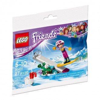 لگو فرندز مدل دختر اسکی سوار  lego 30402