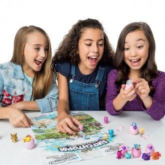 بازی و سرگرمی با تخم 4 عددی (گربه بنفش) هچیمال اصل 5905