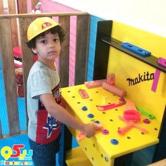 فروش میز ابزار چوبی کودک