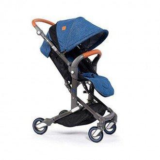 کالسکه babysing مدل IGO طرح آبی جین A770