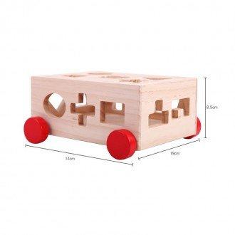 جورچین هوش و سرگرمی چوبی