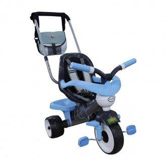 سه چرخه کودک حفاظ دار آبی به همراه کیف مدل 46659