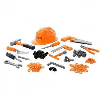 ست ابزار 74 تکه با کلاه نارنجی مدل 53718