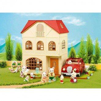 خانه عروسک سه طبقه 2745 sylvanian families