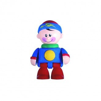 آدمک نشکن پسر ورزشکار کلاه آبی tolo مدل 89722