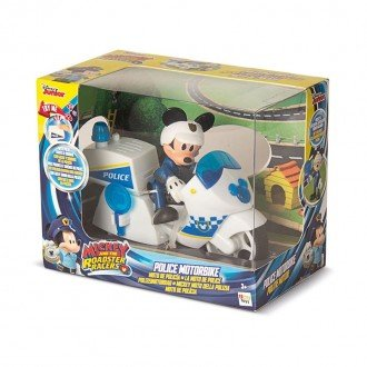 خرید موتور سیکلت پلیس با میکی موس imc toys