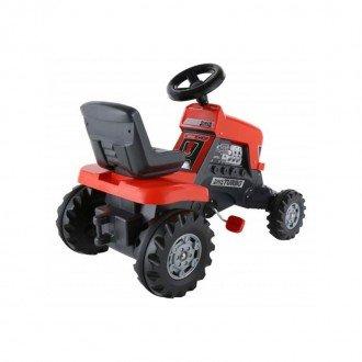 قیمت تراکتور پدالی قرمز با تریلر  مدل 52674