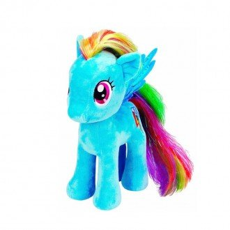 خرید عروسک اسب پونی آبی